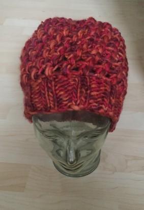 Büschelmaschen-Mütze