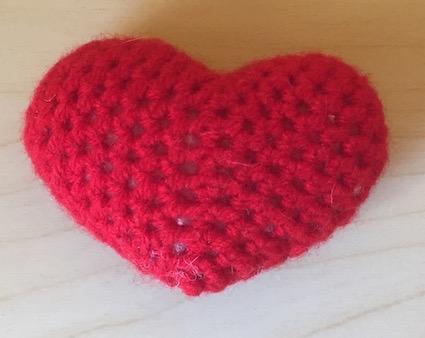 Herz häkeln 1