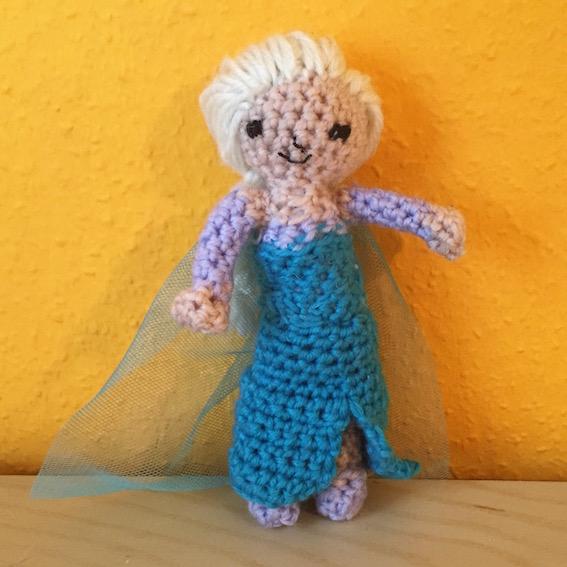 Frozen Crochet Und Die Erste Figur Elsa