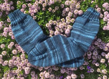 Handgestrickte Socken 2