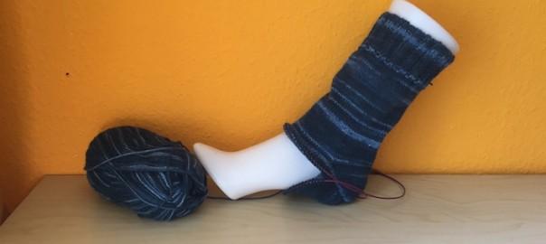Mein Papa bekommt diese Socken zu Weihnachten. © Michaela Kiesel